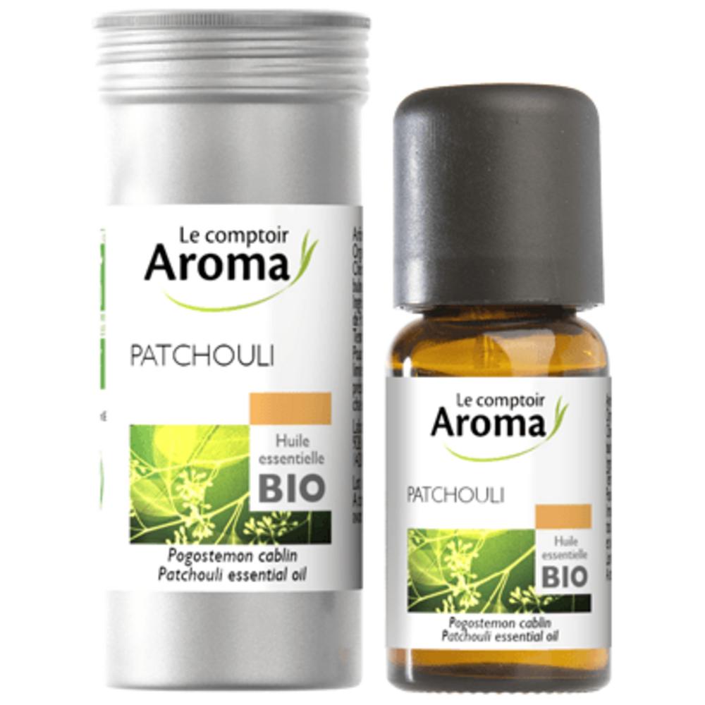 Huile Essentielle BIO Patchouli 5ml - Le Comptoir Aroma -222015