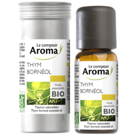 Huile essentielle bio thym bornéol 10ml - le comptoir aroma -222033