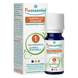 Huile essentielle camomille romaine bio - 5.0 ml - huiles essentielles - puressentiel -129370