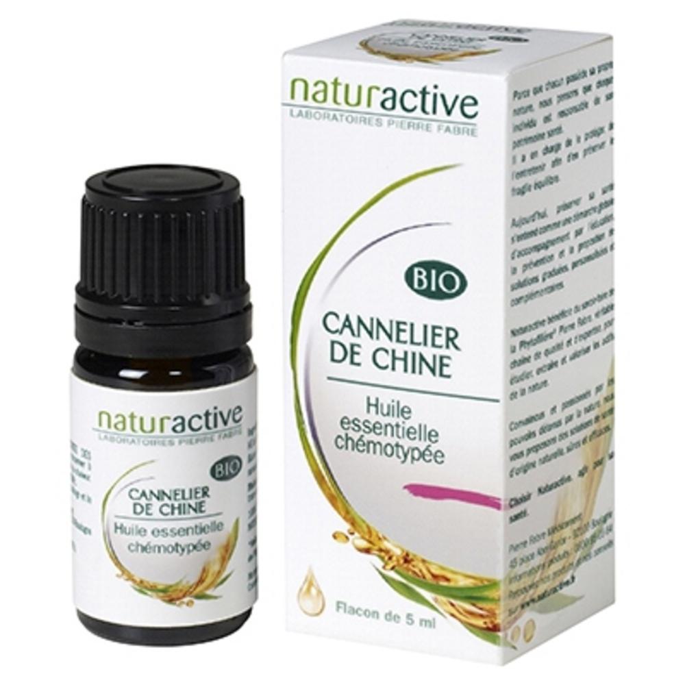 Huile essentielle cannelier de chine bio 5ml - naturactive -200728
