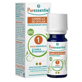 Huile essentielle cannelle de ceylan bio - 5.0 ml - huiles essentielles - puressentiel -125933