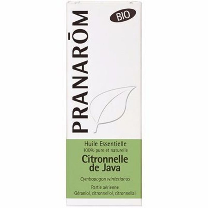 Huile essentielle citronnelle de java bio 10ml Pranarom-210643