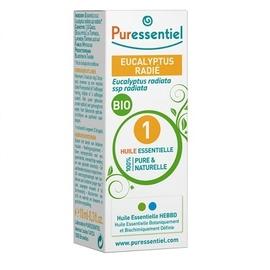 Huile essentielle eucalyptus radié - 10.0 ml - huiles essentielles - puressentiel -125937