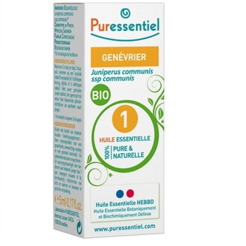 Huile essentielle genévrier bio - 5.0 ml - huiles essentielles - puressentiel -125939