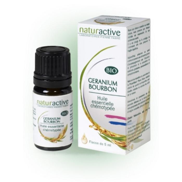 Huile essentielle géranium bourbon bio 5ml Naturactive-200746