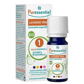 Huile essentielle lavande vraie - 10.0 ml - huiles essentielles - puressentiel -130702