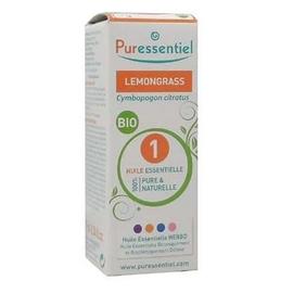Huile essentielle lemongrass - 10ml - puressentiel -204989