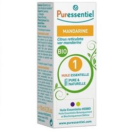 Huile essentielle mandarine - 10.0 ml - huiles essentielles - puressentiel -130704