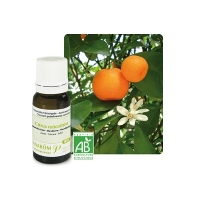 Huile essentielle mandarinier bio 10ml Pranarom-189783