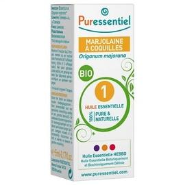 Huile essentielle marjolaine à coquilles bio - 5.0 ml - huiles essentielles - puressentiel -125947