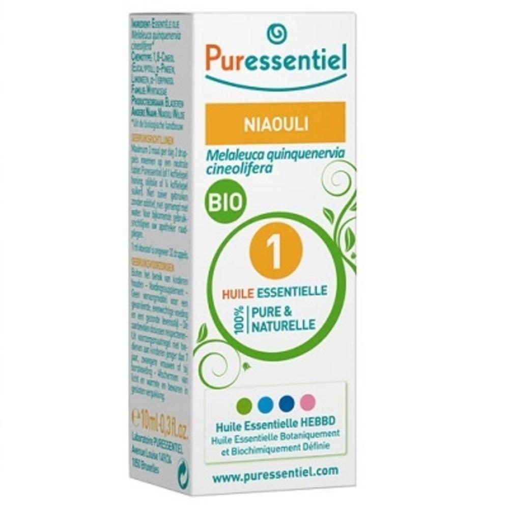 Huile essentielle niaouli - 10.0 ml - huiles essentielles - puressentiel -125949