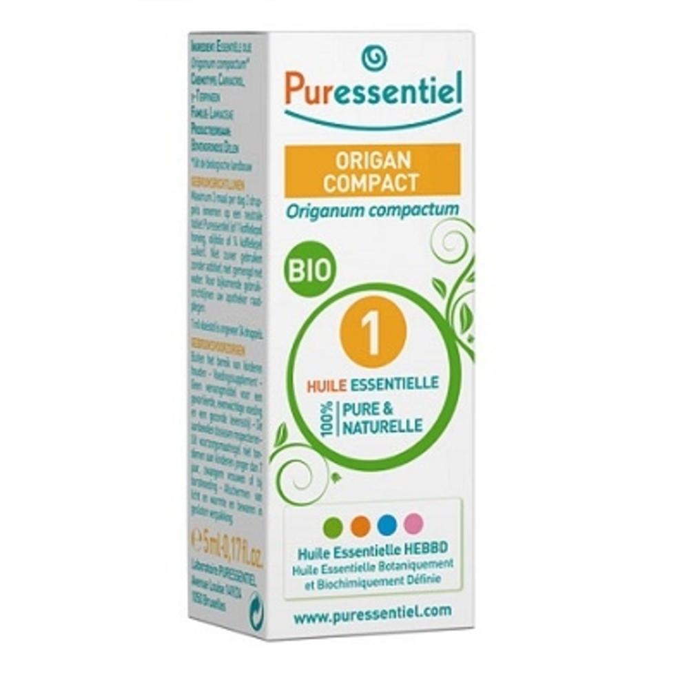 Huile essentielle origan compact - 5.0 ml - huiles essentielles - puressentiel -129371