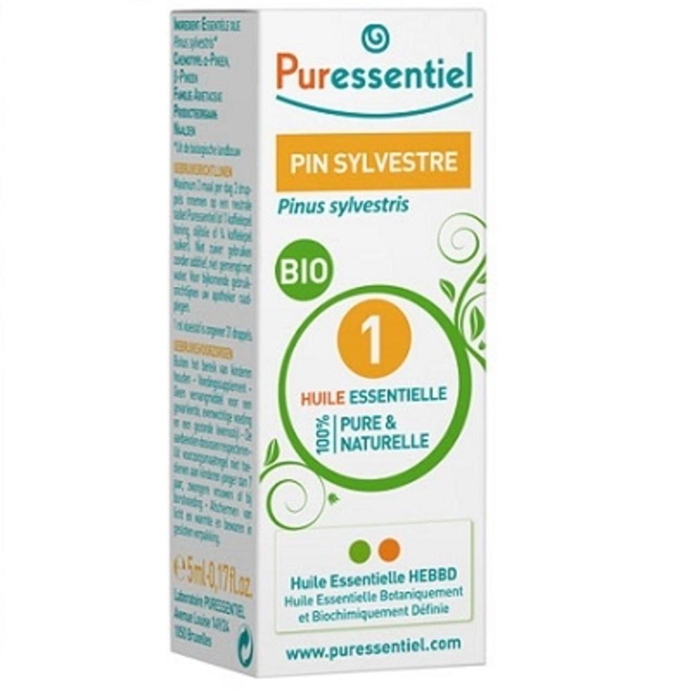 Huile essentielle pin sylvestre - 5.0 ml - huiles essentielles - puressentiel -130115