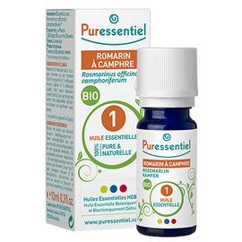 Huile essentielle romarin - 10 ml - 10.0 ml - huiles essentielles - puressentiel -125954