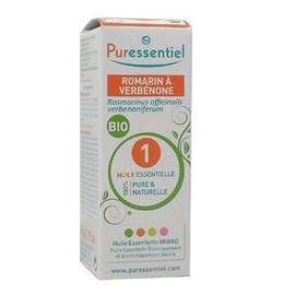 Huile essentielle romarin à verbénone bio - 5ml - puressentiel -204993