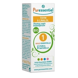 Huile essentielle thym a linalol - 5 ml - 5.0 ml - huiles essentielles - puressentiel -125956