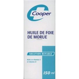 Huile foie de morue - 150.0 ml - cooper -148063