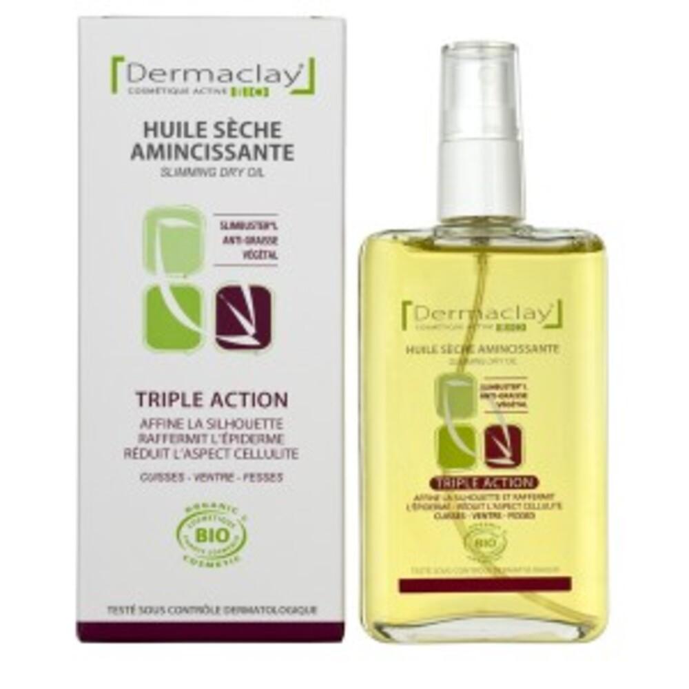 Huile sèche amincissante - 100.0 ml - les huiles sèches soins corporels - dermaclay Anti-graisse végétal-6078