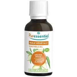 Huile végétale amande douce bio - 30ml - puressentiel -204986