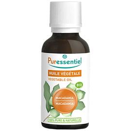 Huile végétale macadamia bio - 30ml - puressentiel -204981