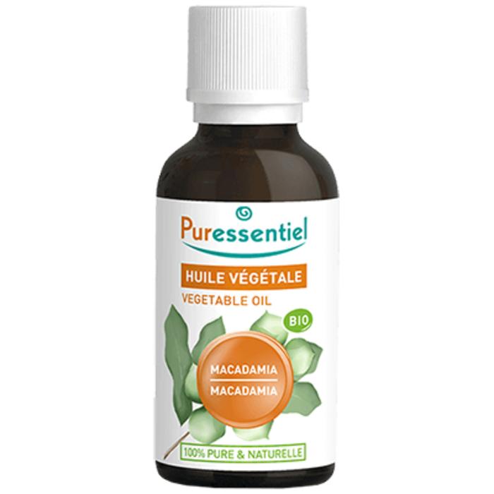 Huile végétale macadamia bio - 30ml Puressentiel-204981