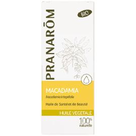 Huile végétale macadamia bio - 50.0 ml - huiles végétales - pranarom -12397