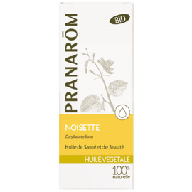 Huile végétale noisette bio 50ml - pranarom -214992