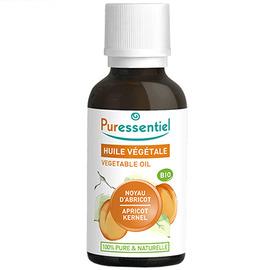 Huile végétale noyau d'abricot bio - 30ml - puressentiel -204983