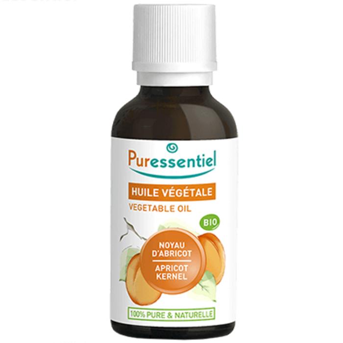Huile végétale noyau d'abricot bio - 30ml Puressentiel-204983