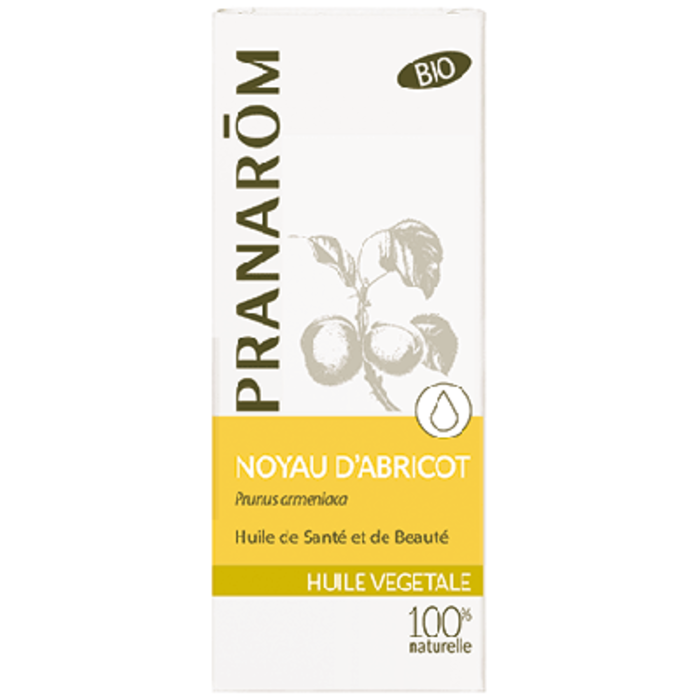 Huile végétale noyau d'abricot bio Pranarom-210653