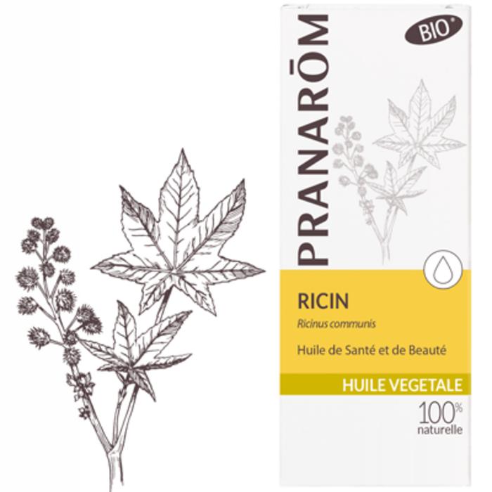 Huile végétale ricin bio 50ml Pranarom-216480
