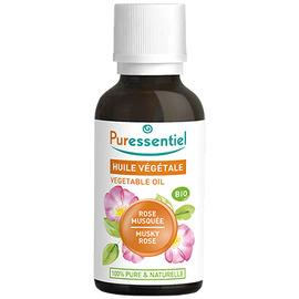 Huile végétale rose musquée bio - 30ml - puressentiel -204984
