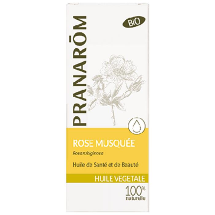 Huile végétale rose musquée bio Pranarom-12402