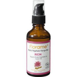 Huile végétale vierge bio ricin 50ml - florame -225671