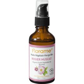 Huile végétale vierge bio rosier muscat 50ml - divers - florame -142129