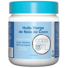 Huile vierge de noix de coco 118ml - bt cosmetics -221466