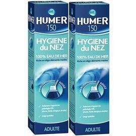 Humer hygiène du nez spray nasal 2x150ml - humer -223429