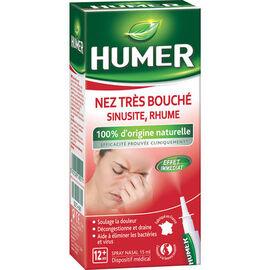 Humer nez très bouché sinusite rhume spray 15ml - 15.0 ml - humer -223705