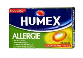 Humex allergie cetirizine 10 mg - 7 comprimés - urgo -206895