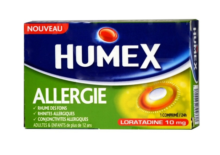 Humex allergie cetirizine 10 mg - 7 comprimés Urgo-206895