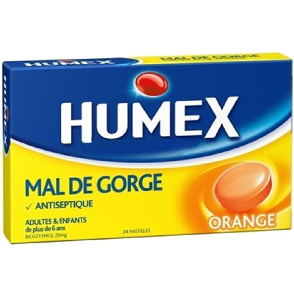 Humex pastilles pour la gorge - 24 pastilles - humex -205824