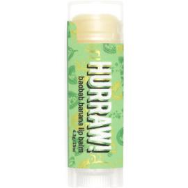 Hurraw baume à lèvres vegan baobab banane - hurraw -219687