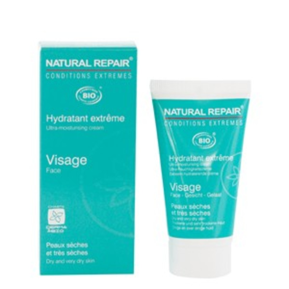Hydratant extrême visage - 50.0 ml - natural repair - alphanova -111980