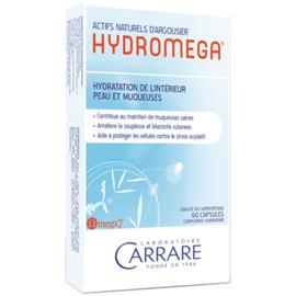 Hydromega protection peau muqueuses 60 capsules - divers - carrare -134597