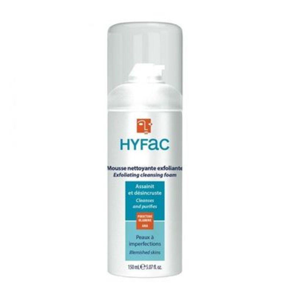 Hyfac mousse nettoyante exfoliante 150ml - hyfac -226114