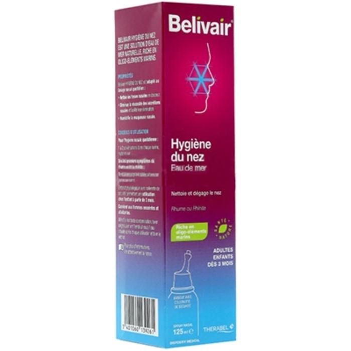 Hygiène du nez spray nasal - 125 ml Belivair-205909