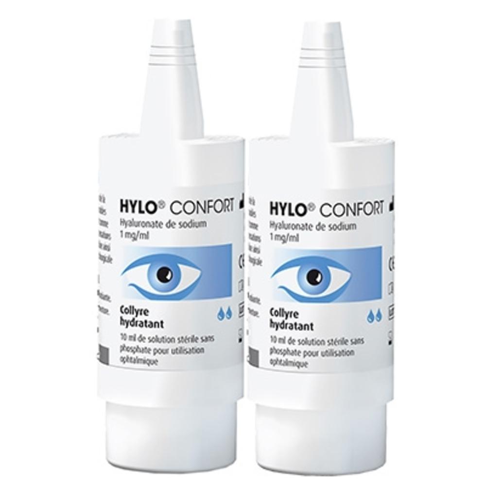 Hylo confort collyre hydratant - 2x10ml - ursapharm -202816