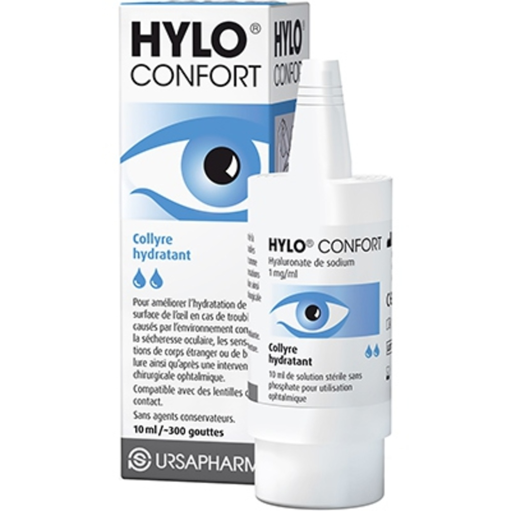 Hylo confort plus collyre hydratant - 10ml - ursapharm -200648