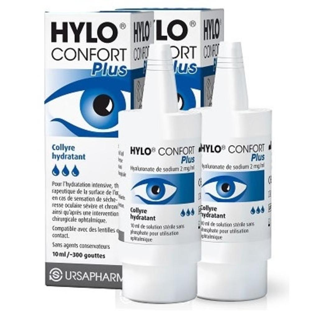 Hylo confort plus collyre hydratant - 2x10ml - ursapharm -201746