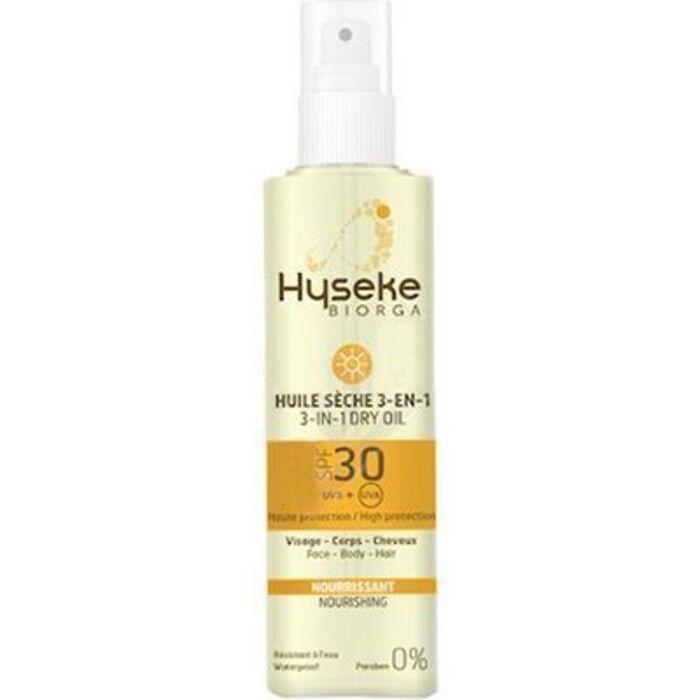 Hyseke huile sèche 3-en-1 spf30 100ml Hyseke-226478